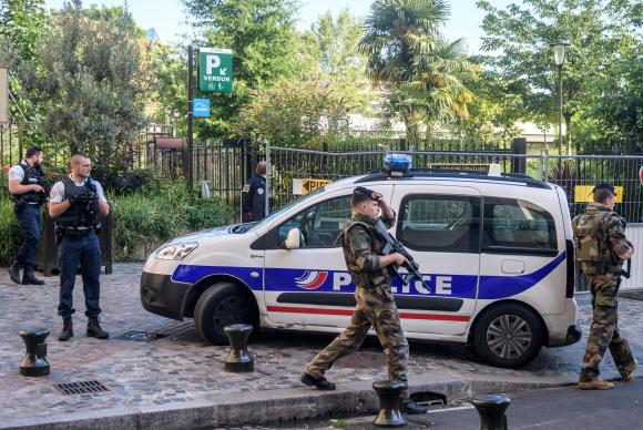Detido suspeito de atropelamento de militares na França