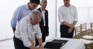 Temer anuncia R$ 45 milhões para obras de transposição do São Francisco