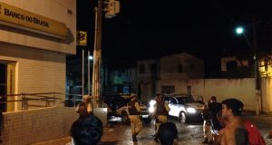 Grupo armado explode agência do Banco do Brasil em São Félix