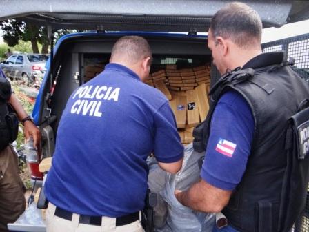 Polícia apreende 800kg de maconha em fazenda às margens da BR-101