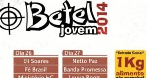 9º Encontro Betel Jovem começa nesta sexta em Cruz das Almas