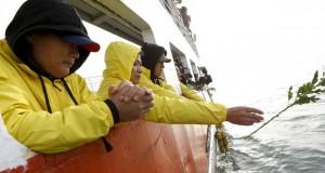 Vítimas de naufrágio na Coreia do Sul