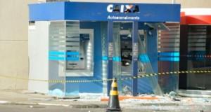 Bandidos explodem caixas eletrônicos em shopping de Feira