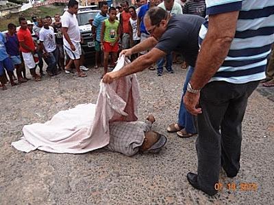 Homem é assassinado na Ladeira do Cruzeiro, em Maragojipe