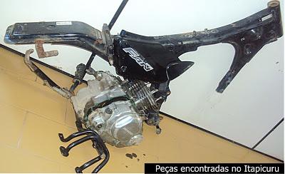 Polícia prende no Itapicuru suspeito de assalto a moto