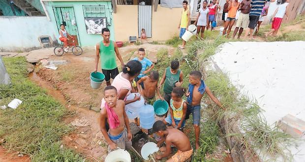 Embasa estende alerta e falta d'água ameaça mais de 120 bairros de Salvador