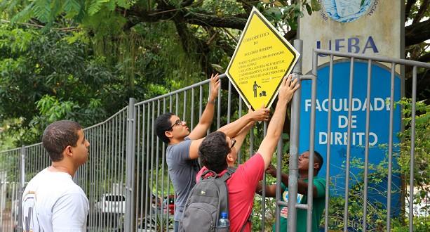 Estudantes da Faculdade de Direito da Ufba pedem segurança