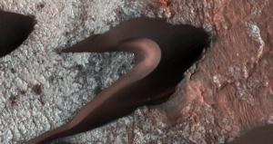 Nasa publica imagens de dunas em solo de Marte