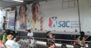 São Felipe e Conceição do Almeida recebem visita do SAC Móvel