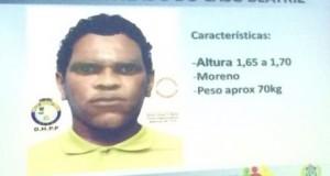 Polícia divulga retrato falado do suspeito de matar menina em Petrolina