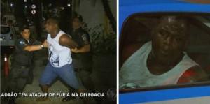 Após ser rendido por travestis, suspeito chora e chama pela mãe em delegacia na Lapa, centro do Rio