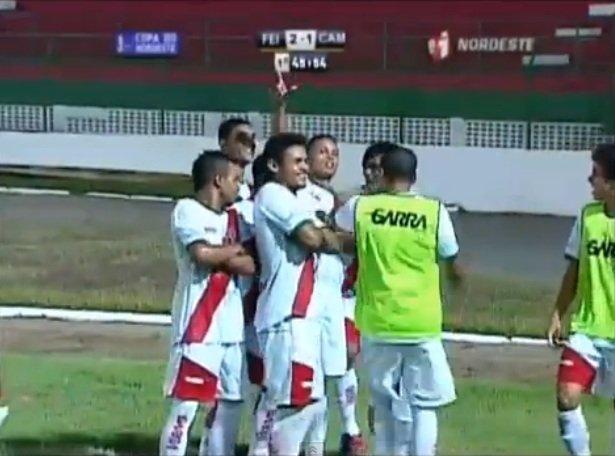 Feirense cede empate ao Campinense no final do jogo