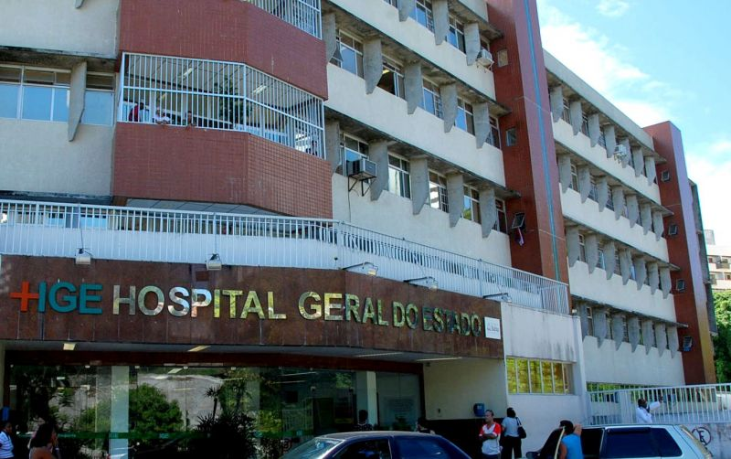 Resultado de imagem para Hospital Geral do Estado, em Salvador