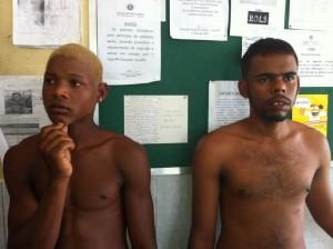 Polícia não divulgou o nome dos homens presos