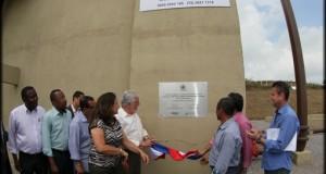 Wagner inaugura esgotamento sanitário de Cruz das Almas