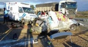 Médica e filho morrem em acidente na BR-116