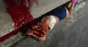 Mulher é morta a tiros no Lobato nesta segunda (8)