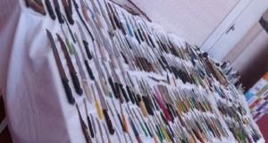 Mais de 300 armas brancas foram apreendidas nos circuitos do carnaval